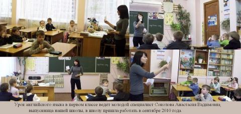 Соколова Анастасия Вадимовна - ГБОУ СОШ № 346, Комплекс