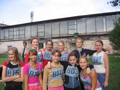 Вся сборная команда школы -девушки - ГБОУ СОШ № 346, Комплекс