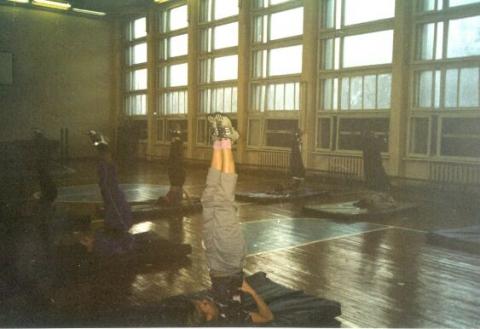 На уроке гимнастики - ГБОУ СОШ № 346, Комплекс