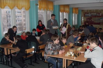 Турнир по шахматам - ГБОУ СОШ № 346, Комплекс