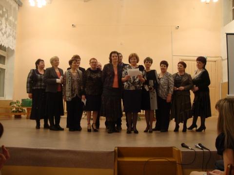 Юбиляры на сцене - Муниципальное образовательное учреждение Северокоммунарская средняя общеобразовательная школа
