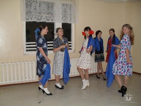 Репитируем  `Синий платочек` - Раиса Николаевна Полуянова