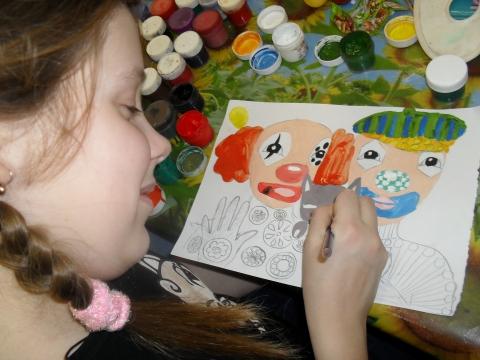 на уроке изо - Тамара Николаевна Панфёрова