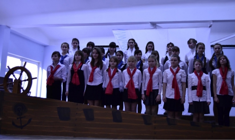 Праздничный концерт в честь Блокадников - ГБОУ СОШ № 346, Комплекс