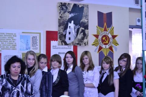 В музее встреча с Блокадниками. - ГБОУ СОШ № 346, Комплекс