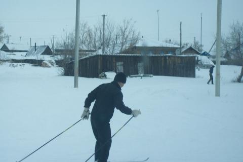 Лыжники - Муниципальное общеобразовательное учреждение Усть-Уйская средняя общеобразовательная школа