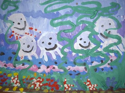 Осьминожки - ГБДОУ детский сад №101