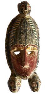 """Африканская маска  """"Funtunfunefu """". объясняет, что не может быть единства там, где есть разнообразие."""