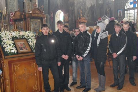 День православной молодежи.В городском храме - Ирина Александровна Гавриленко