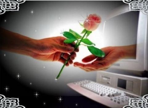 Руки с цветком - Татьяна Юрьевна Чиханатова