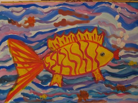 Золотая рыбка - ГБДОУ детский сад №101