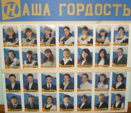 Наша гордость - Муниципальное образовательное учреждение средняя общеобразовательная школа № 3 г. Петровск-Забайкальский