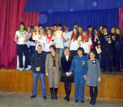 КВН Пожарная безопасность 2011 - 1 - ГБОУ Школа № 268 Невского района Санкт-Петербурга