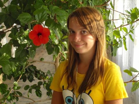 Мой цветочек - Елена Дмитриевна Овсянникова