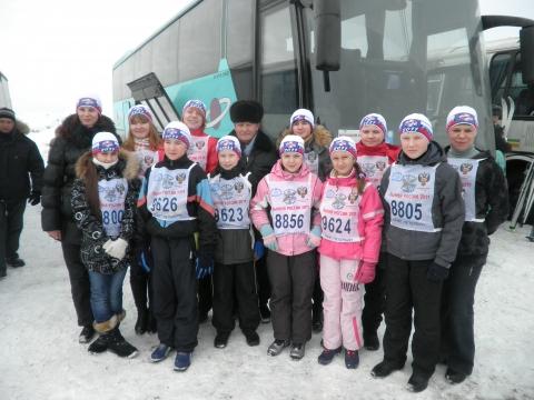 Лыжня России - Средняя школа № 23 с углублённым изучением финского языка