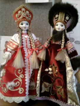 Куклы в национальных костюмах - Наталья Александровна Алексеева