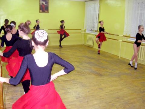 Урок хореографии - МКОУДОД Богучарская детская школа искусств
