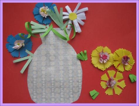 Ваза с цветами - ГБДОУ детский сад №101