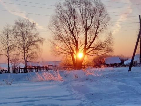 Зимнее утро - Владимир Николаевич Моисеев