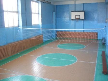 Спортивный зал - Муниципальное бюджетное общеобразовательное учреждение Дятьковская средняя общеобразовательная школа № 1