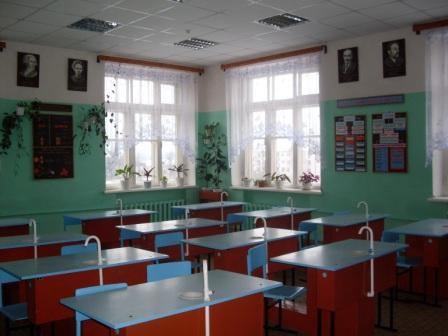 Кабинет химии № 408 - Муниципальное бюджетное общеобразовательное учреждение Дятьковская средняя общеобразовательная школа № 1