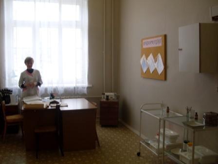 Медицинский пункт - Муниципальное бюджетное общеобразовательное учреждение Дятьковская средняя общеобразовательная школа № 1