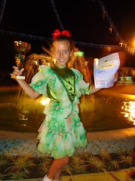 Мой голубой Кубок Болгария - 2010 Сафонова Александра - Надежда Анатольевна Селютина