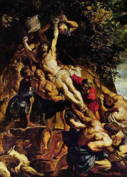 Воздвижение Креста Господня Пауль Рубенс