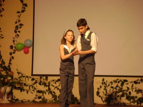 Наша гордость - Маша и Слава - Средняя общеобразовательная школа 337
