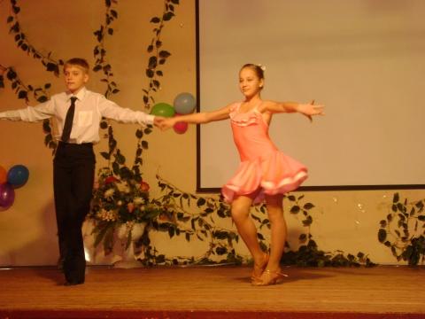 Наши танцоры - Средняя общеобразовательная школа 337