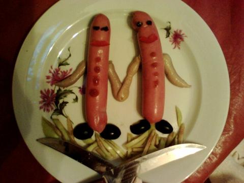 Оформление блюд для детей - Вера Владимировна Пырьева