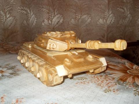 Как сделать из фанеры танк