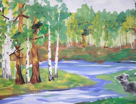 Река Ай - Тамара Николаевна Панфёрова