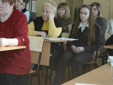 На конференции `В науку первые шаги` - Ирина Леонидовна Филатова