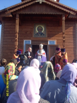 часовня в д. Квашнино - Елена Николаевна Кеслер