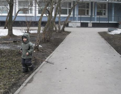 Самый маленький наш помошник приобрёл себе орудие труда. - ГБОУ СОШ № 346, Комплекс