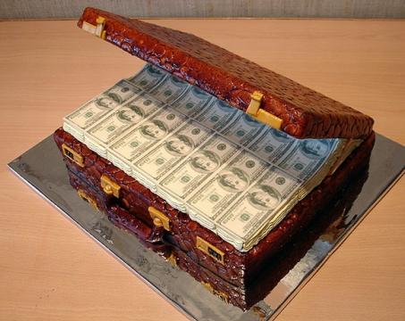 Торт  На удачу