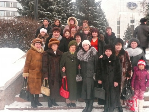 поездка коллектива в театр - Разина Закирьяновна Мавлютова