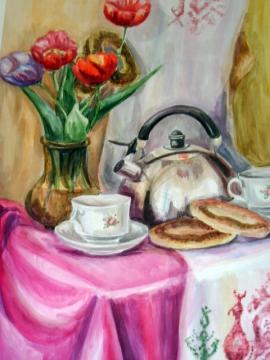 Чай с бубликами - МКОУДОД Богучарская детская школа искусств