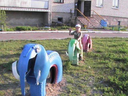 Купить садовые фигуры из покрышек - Всё о фигуре здесь