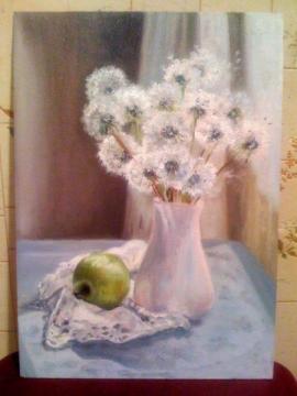 Одуванчики в живописи и поэзии