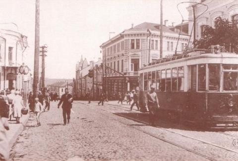 Старый смоленский трамвай - Ирина Николаевна Коровина