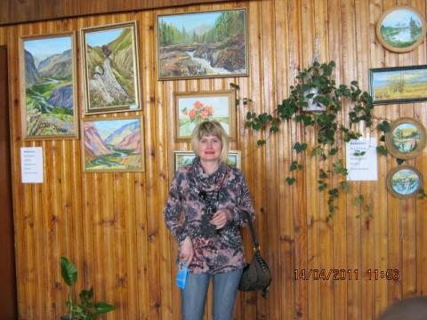 моя живопись путешествую по горам Алтая - Ольга Евгеньевна Коваленко