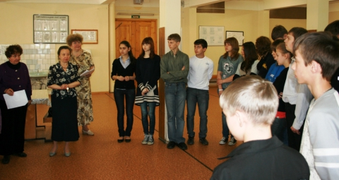 Награждение 2011 - 06 - ГБОУ Школа № 268 Невского района Санкт-Петербурга