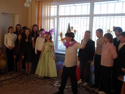 Гости из школы № 516, 6`а` - ГБДОУ детский сад №86 Невского района Санкт - Петербурга