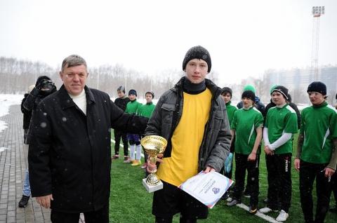Саша Карпов - вратарь - ГБОУ СОШ № 346, Комплекс
