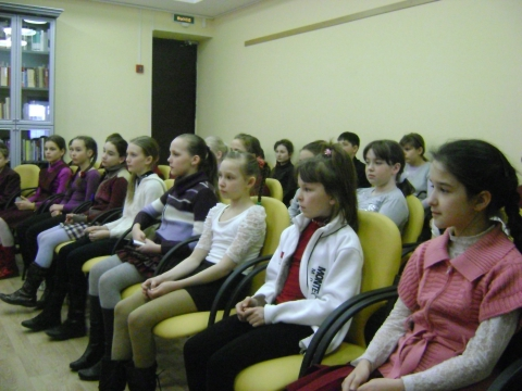 В зале для лекций - Ольга Игоревна Баранцева