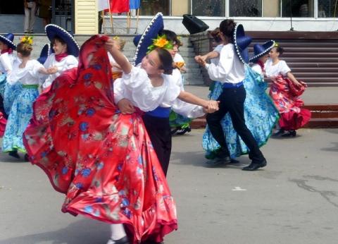 Мексиканский танец - МКОУДОД Богучарская детская школа искусств