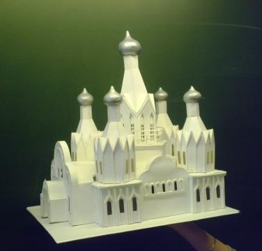 макет храма из бумаги - Тамара Николаевна Панфёрова