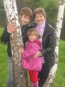 сын Дима и младшая дочка Анюта - Светлана Николаевна Сильченкова